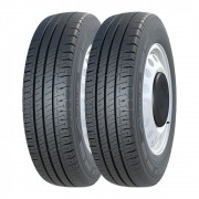 Kit 2 Pneus Michelin Aro 15 205/70R15C Agilis 106/104R