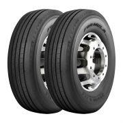 Kit 2 Pneus Pirelli Aro 22,5 295/80R22,5 Formula Driver II 152/148M