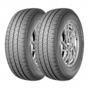 Kit 2 Pneus Saferich Aro 16 225/75R16C FRC96 10 Lonas 121/120R