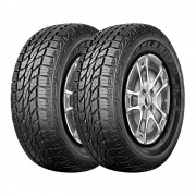 Kit 2 Pneus Three-A Aro 16 235/70R16 Ecolander AT 104T