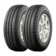 Kit 2 Pneus Triangle Aro 16C 195/65R16C TR-652 104/102T