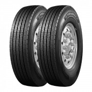 Kit 2 Pneus Triangle Aro 19 285/70R19,5 TR-685 18 Lonas 150/148J