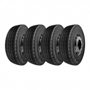 Kit 4 Pneus Double Star Aro 17 215/75R17,5 DSR116 16 Lonas 126/124L