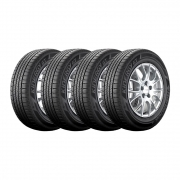 Kit 4 Pneus Hankook Aro 16 205/60R16 H-436 Kinergy GT 92H
