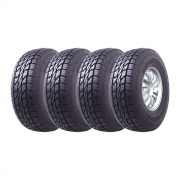 Kit 4 Pneus Mazzini Aro 17 315/70R17 Giantsaver AT 10 Lonas 121/118R