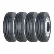 Kit 4 Pneus Michelin Aro 16 225/75R16C Agilis 118/116R