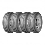 Kit 4 Pneus Saferich Aro 16 225/75R16C FRC96 10 Lonas 121/120R