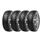 Kit 4 Pneus Sunfull Aro 17 245/65R17 Mont Pro AT782 AT 107T