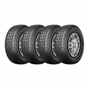 Kit 4 Pneus Three-A Aro 16 235/70R16 Ecolander AT 104T
