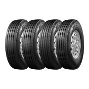 Kit 4 Pneus Triangle Aro 17,5 215/75R17,5 TR-685 16 Lonas 135/133