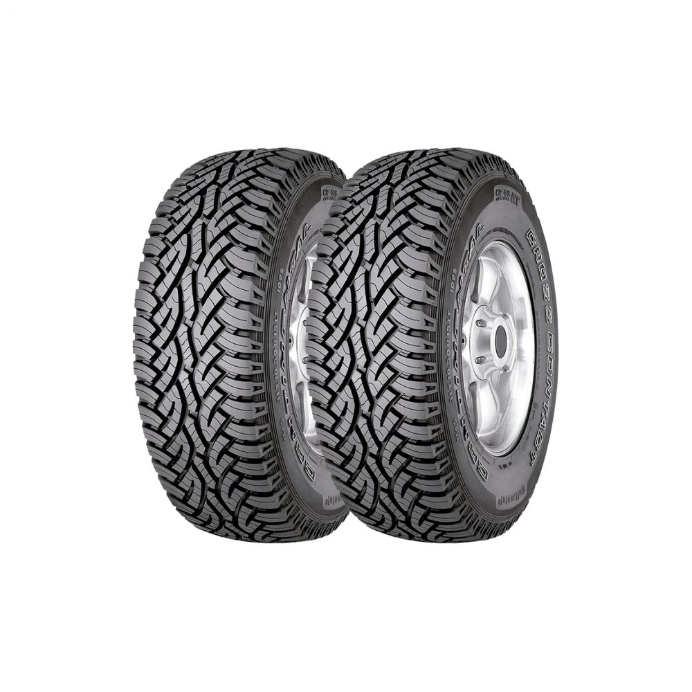 Kit 2 Pneus Continental Aro 15 205/60R15 ContiCrossContact AT 91H
