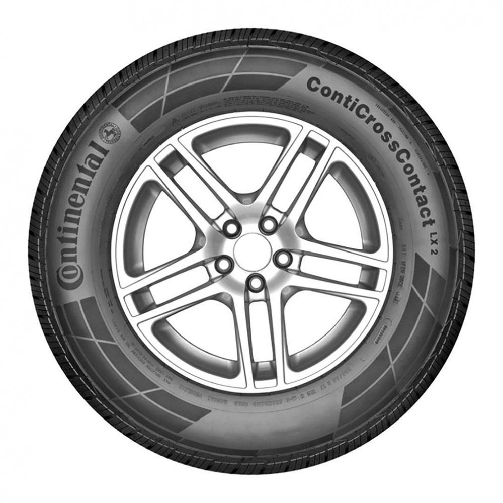 Kit 2 Pneus Continental Aro 16 265/70R16 ContiCrossContact LX2 112H