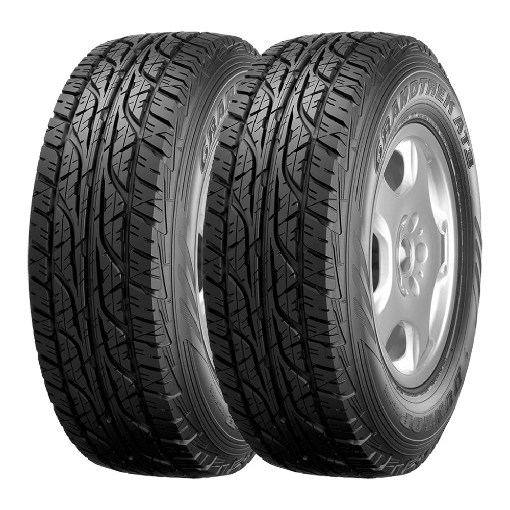 Kit 2 Pneus Dunlop Aro 18 255/60R18 Grandtrek AT-3 112H