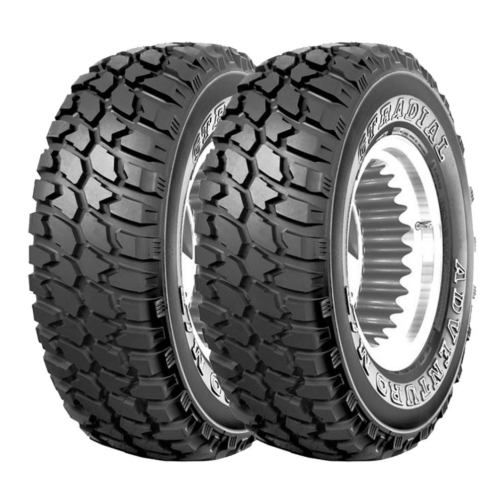 Kit 2 Pneus GT Radial Aro 15 33x12,5R15 Adventuro MT 108Q