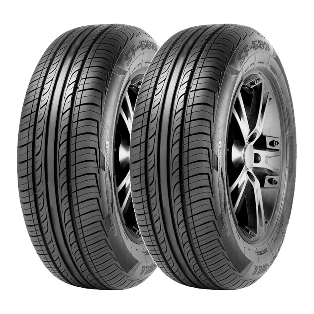 Kit 2 Pneus Sunfull Aro 14 185/55R14 SF-688 80H