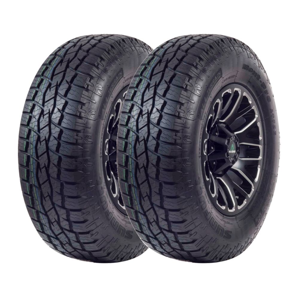 Kit 2 Pneus Sunfull Aro 18 265/60R18 Mont Pro AT786 110T
