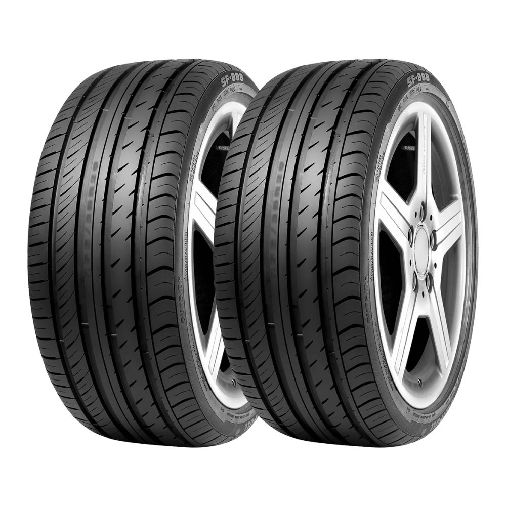 Kit 2 Pneus Sunfull Aro 21 295/35R21 SF-888 107Y