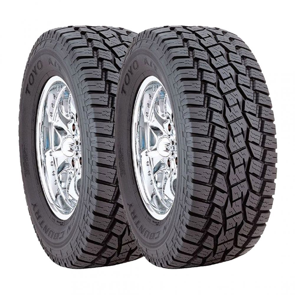 Kit 2 Pneus Toyo Aro 14 225/70R14 Open Country AT 98S
