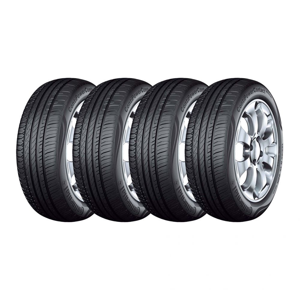 Kit 4 Pneus Continental Aro 15 185/60R15 ContiPowerContact 88H