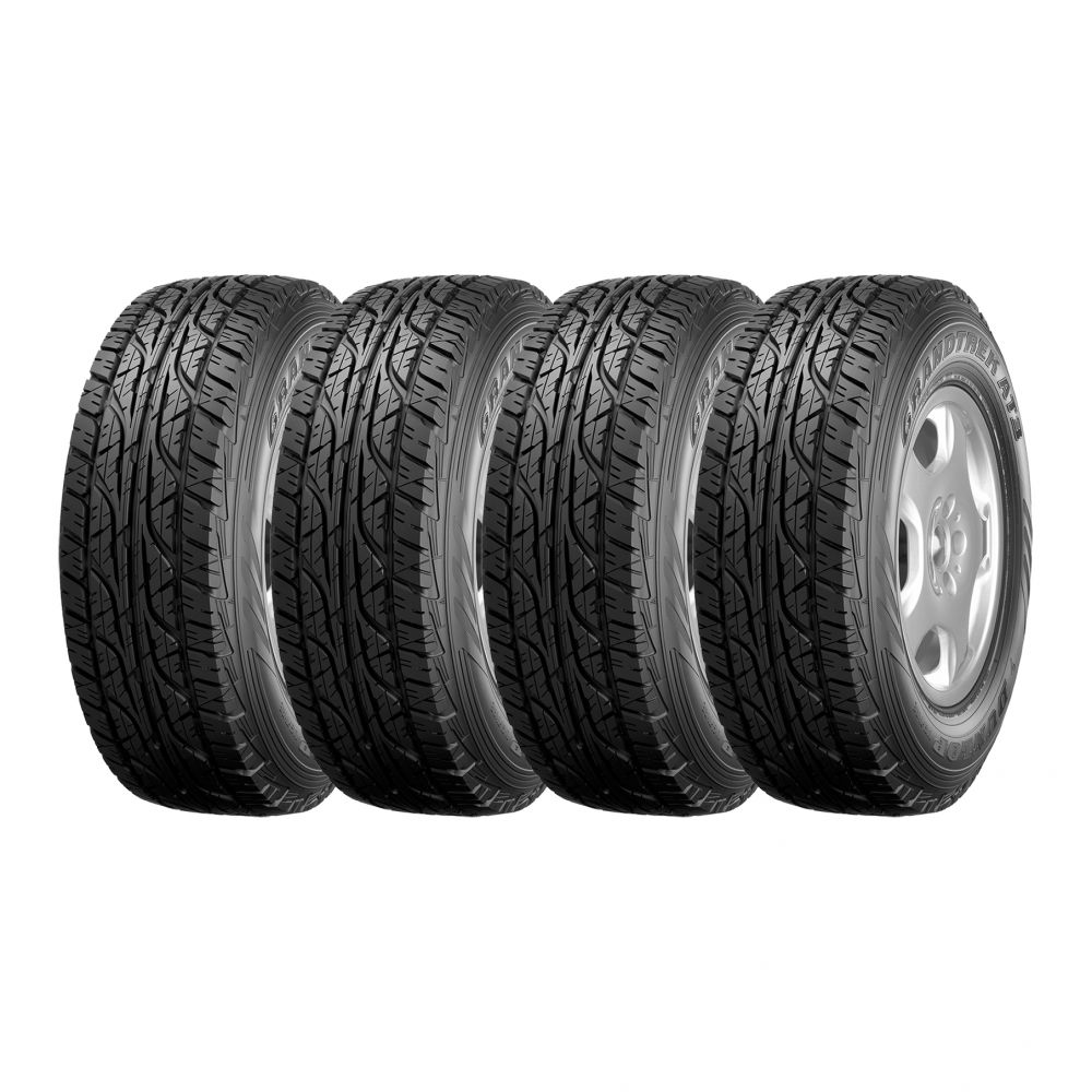 Kit 4 Pneus Dunlop Aro 15 31X10,5R15 Grandtrek AT-3 109S