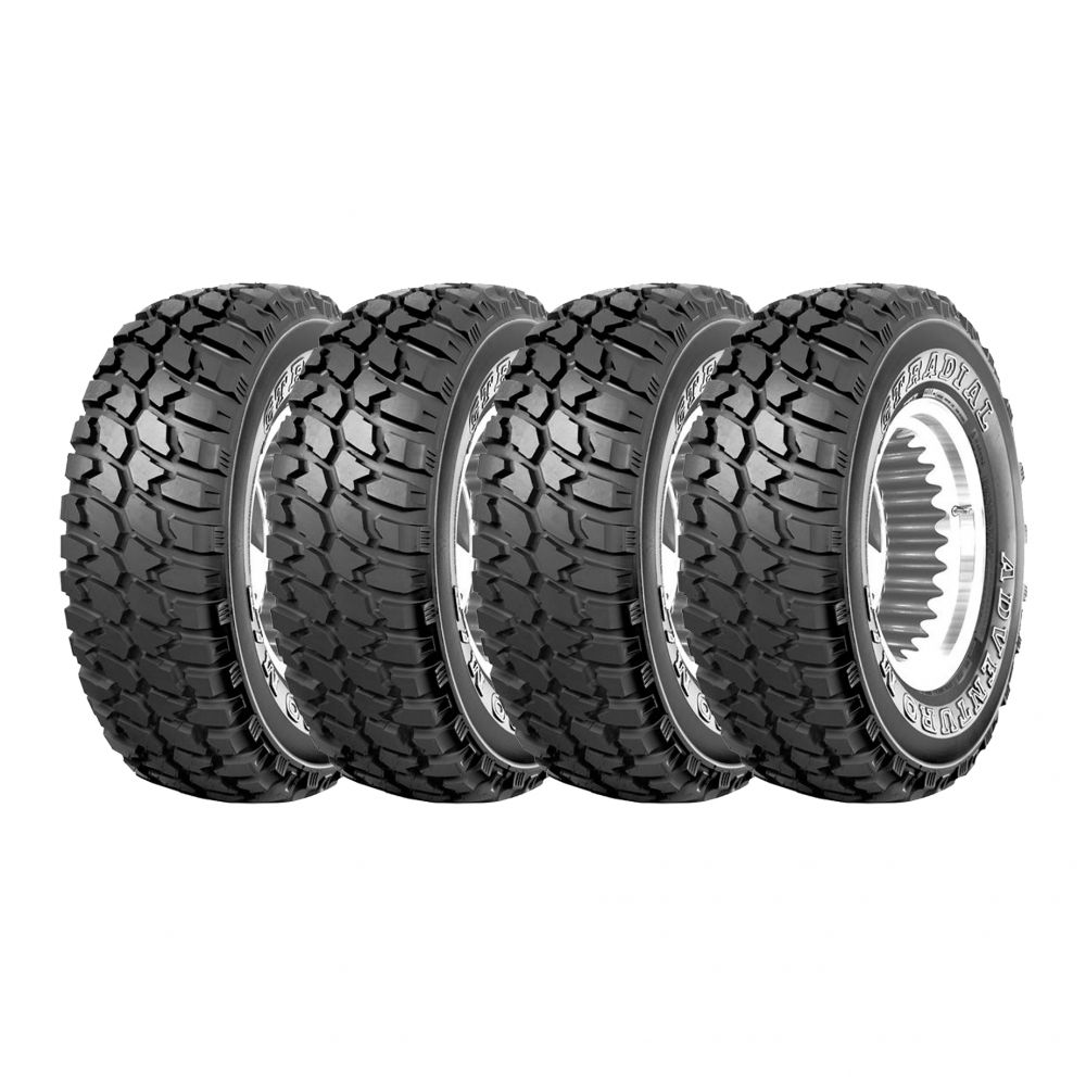 Kit 4 Pneus GT Radial Aro 16 285/75R16 Adventuro MT 122/119Q