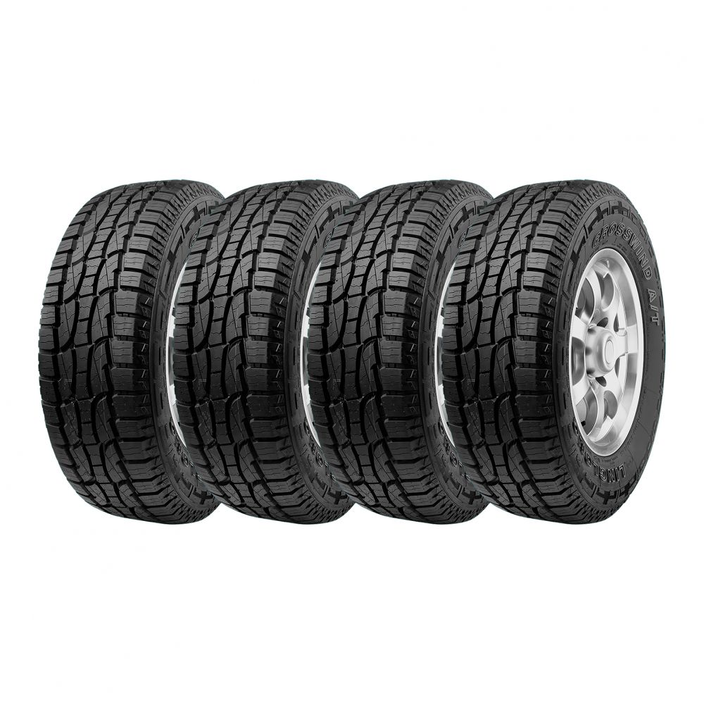Kit 4 Pneus Ling Long Aro 15 205/60R15 Crosswind AT 91H