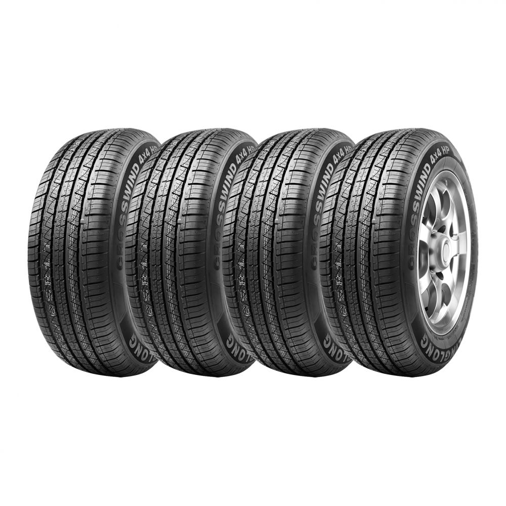 Kit 4 Pneus Ling Long Aro 18 225/60R18 Crosswind 4x4 HP 100H