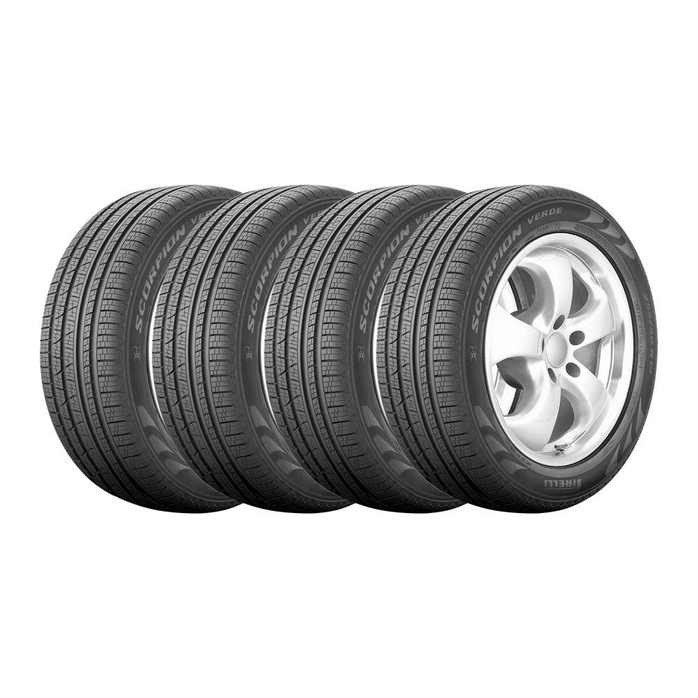 Kit 4 Pneus Pirelli Aro 17 215/60R17 Scorpion Verde All Season 100H