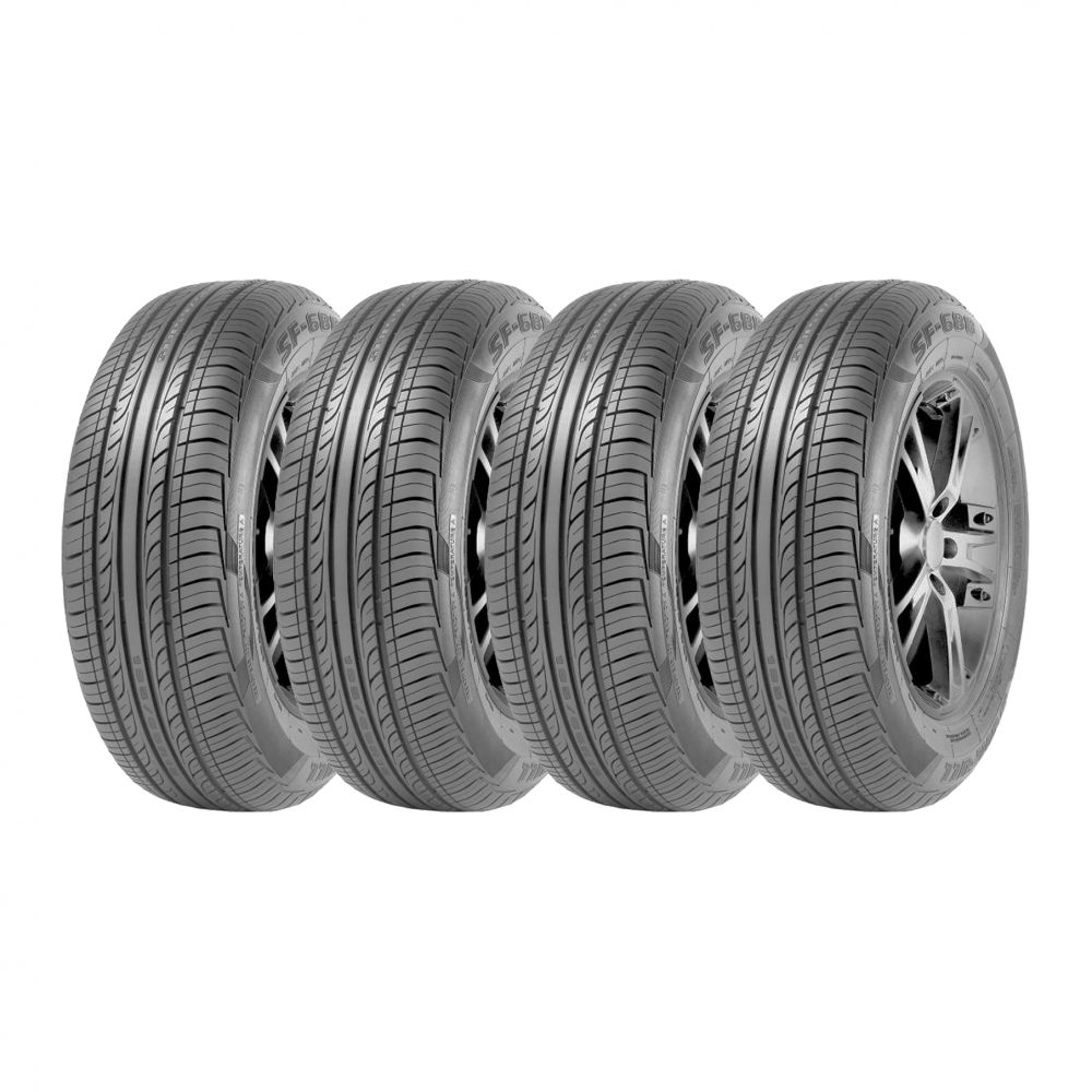 Kit 4 Pneus Sunfull Aro 16 205/55R16 SF-688 91V