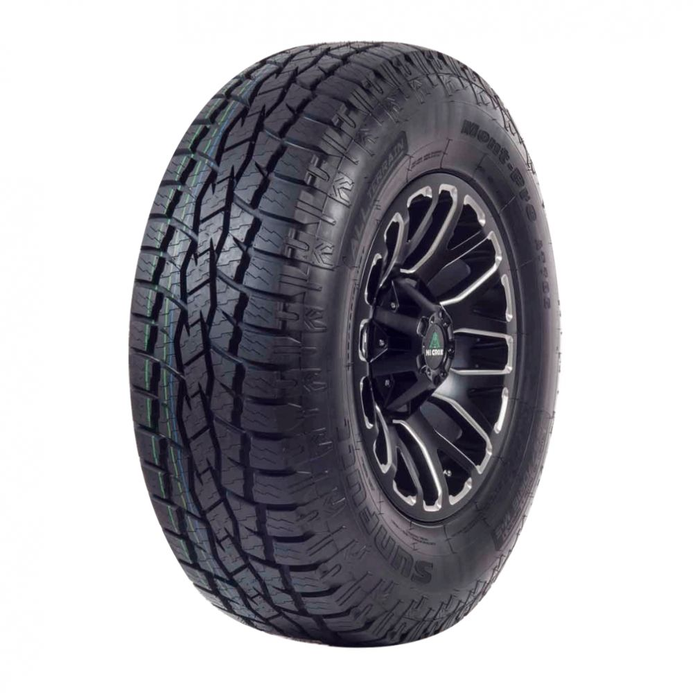 Kit 4 Pneus Sunfull Aro 18 265/60R18 Mont Pro AT786 110T