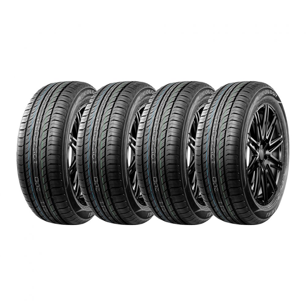 Kit 4 Pneus XBRI Aro 14 185/60R14 Ecology 82H