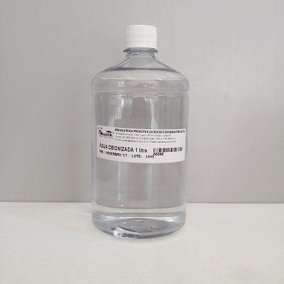 Água Deionizada (desmineralizada) 1 lt