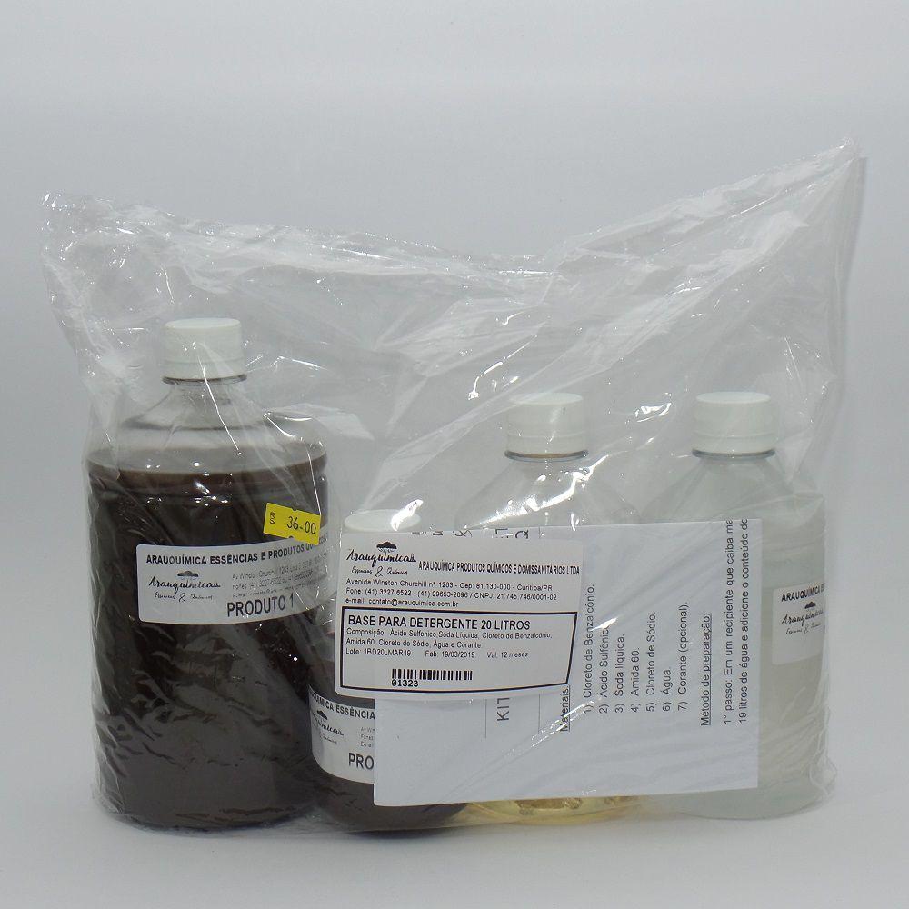 Base para Detergente Arauquímica 20 L