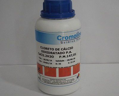Cloreto de Cálcio Anidrido P.A. 500 gr