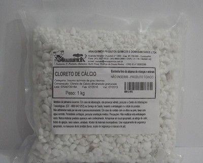 Cloreto de Cálcio em Escama - 1 kg
