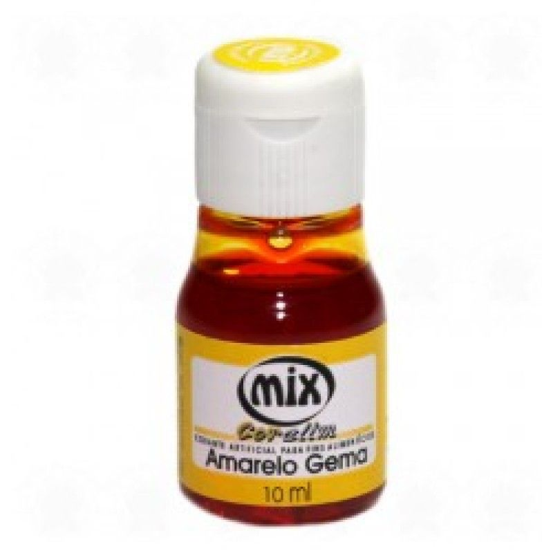 Corante Mix - Amarelo Gema - 10 ml
