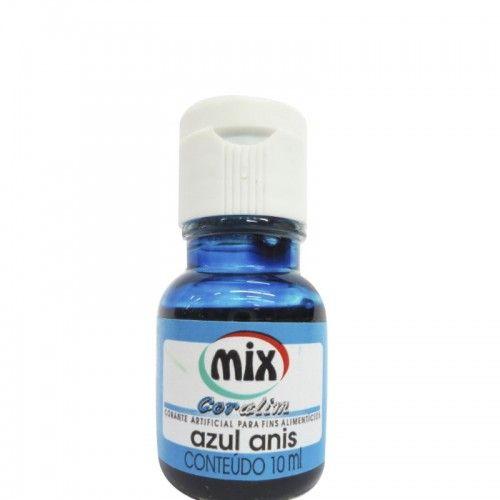 Corante Mix - Azul Anis - 10 ml