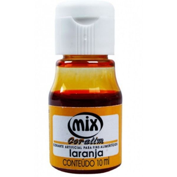 Corante Mix - Laranja - 10 ml