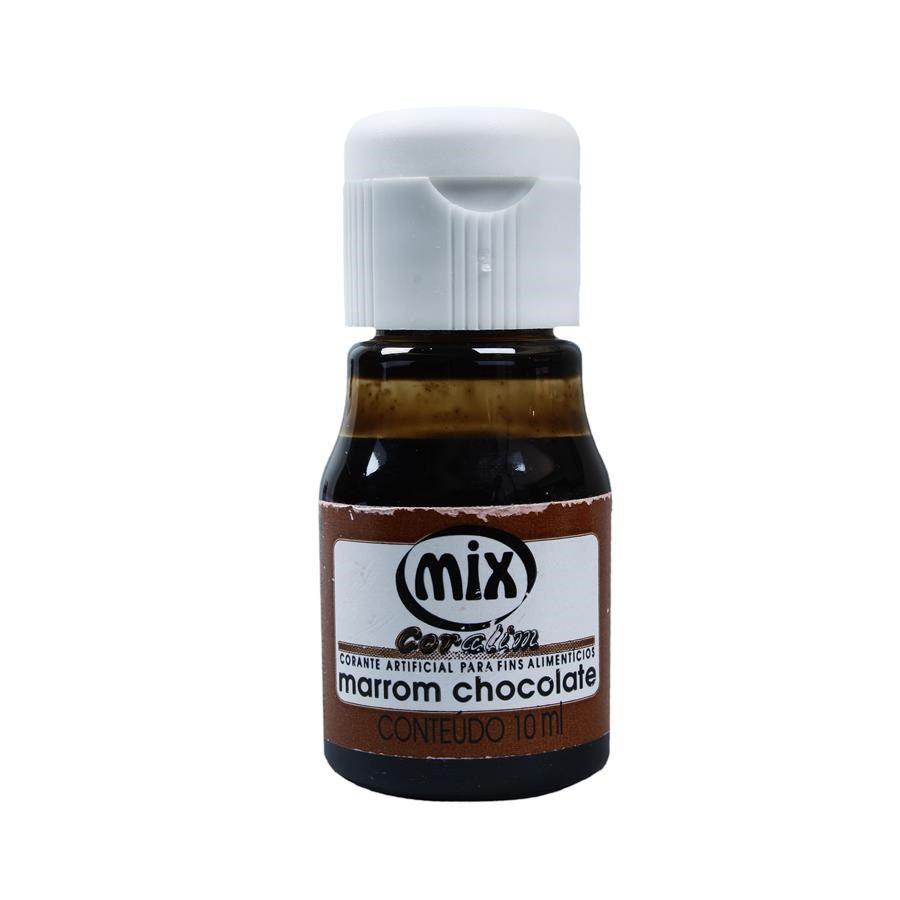 Corante Mix - Marrom Chocolate - 10 ml