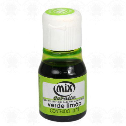 Corante Mix - Verde Limão - 10 ml