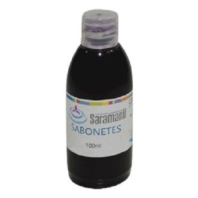 Corante p/ sabonetes 100 ml - Preto