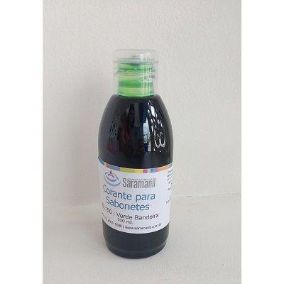 Corante p/ sabonetes 100 ml - Verde Bandeira
