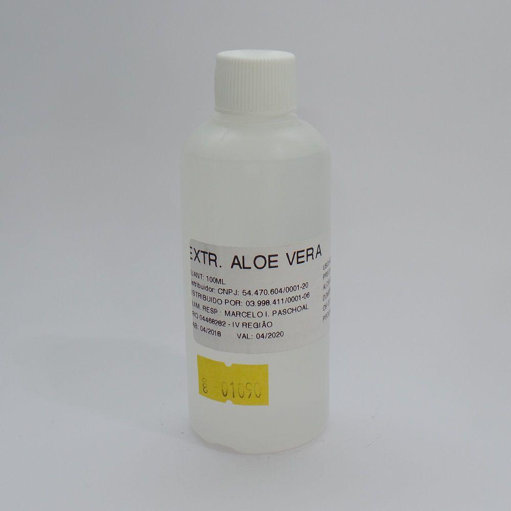 Extrato Glicólico de Aloe Vera 100 ml