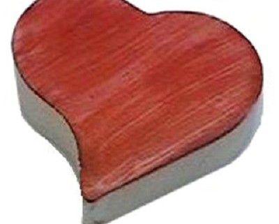 Forma de Silicone: Coração Ondulado 2 cav