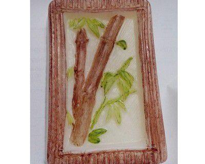 Forma de Silicone: Retangular Bamboo