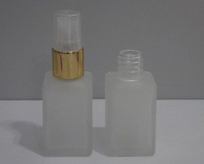Frasco Vidro 30 ml Quadrado Fosco 18/410