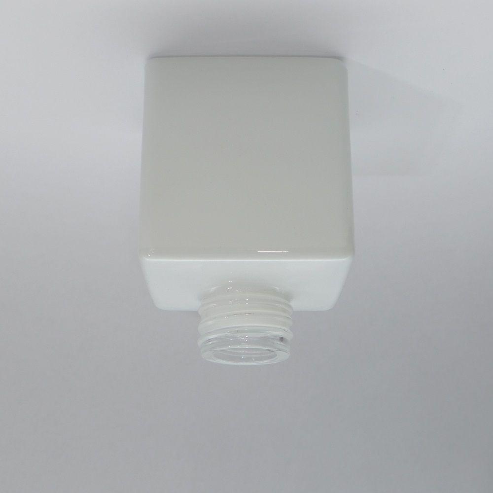 Frasco Vidro Cube 100 ml R28 Branco