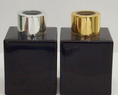Frasco Vidro Cube 100 ml R28 Preto