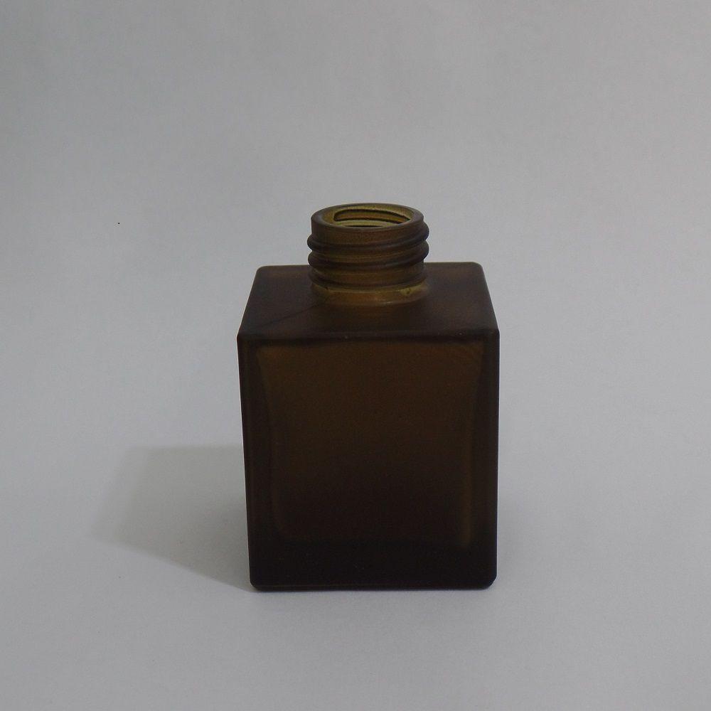 Frasco Vidro Cube Fosco Irradiado 100 ml