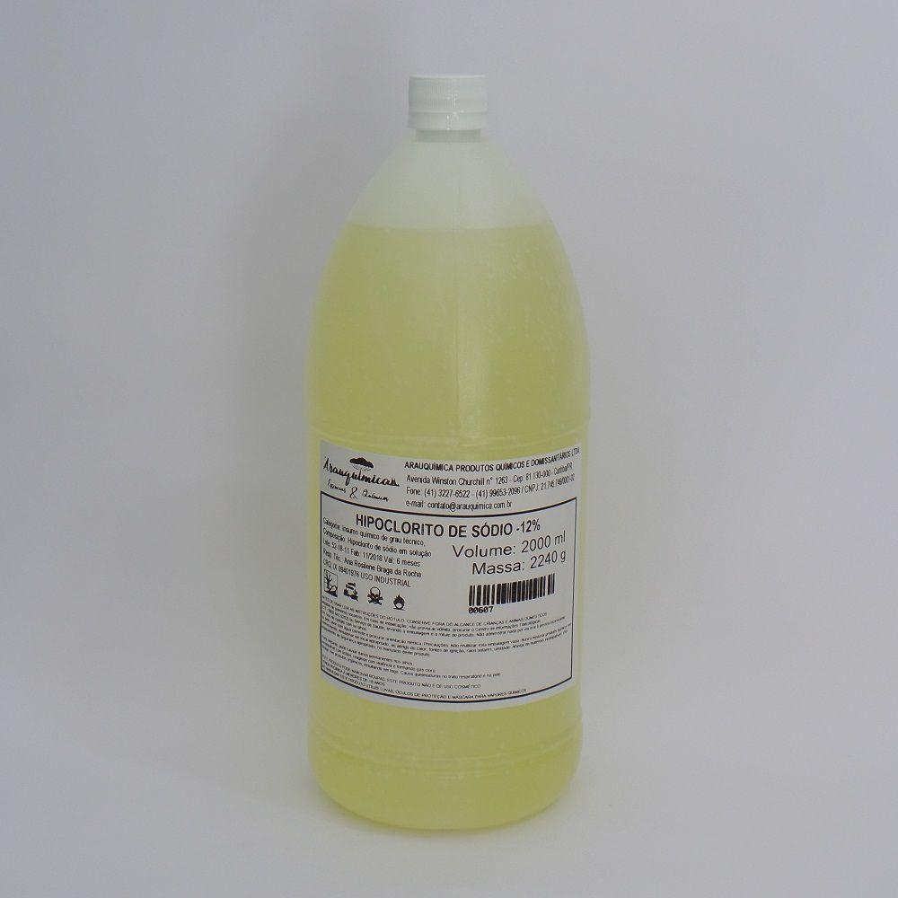 Hipoclorito de Sódio 12% - 2 l